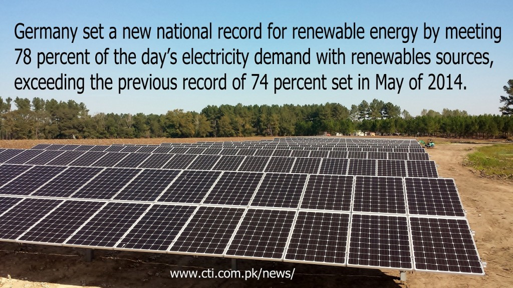 germany sets new record for Renewable Energy production